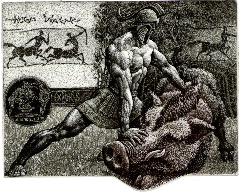 Hercules-and-the-Erymanthian-Boar